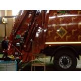 Весовая система Pegasus-2 на мусоровозе с задней загрузкой