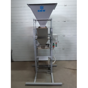 Полуавтоматический вибрационный весовой дозатор с импульсным запайщиком SMW SVDPS3